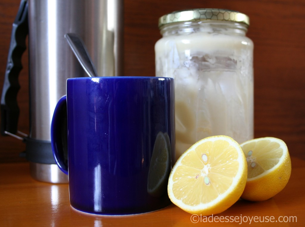tisane citron
